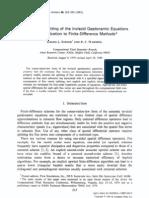 Steger Warming Flux Vector Splitting Method