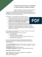 Jornada de Intercambio Sobre Externacione Ssustentables-Conclusiones[2]