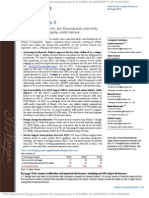 JPM 080812 Supply Chain Bottlenecks