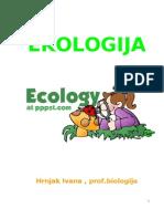 EKOLOGIJA - skripta