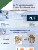 Arteria Maxilar Ppt
