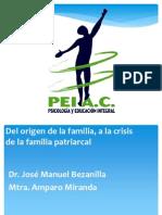 DEL ORIGEN DE LA FAMILIA A LA CRISIS DEL PATRIARCADO 2012