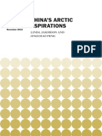 China's Arctic Aspirations