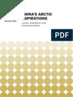 China's Arctic Aspirations