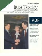 Tinnitus Today June 1990 Vol 15, No 2
