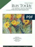 Tinnitus Today June 1991 Vol 16, No 2