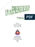 Entrepreneurship - English for Business