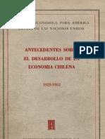 Cepal Economia Chilena 1952