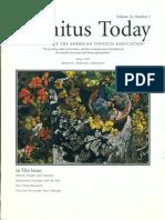 Tinnitus Today June 1997 Vol 22, No 2