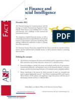 Threat Finance and Financial Intelligence Fact Sheet