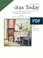 Tinnitus Today March 1999 Vol 24, No 1