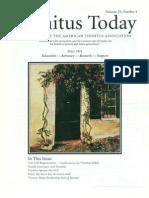 Tinnitus Today December 2000 Vol 25, No 4