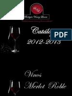 Bodegón vinos y licores C.A. Catalogo 1012-2013