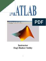 Mat Lab Course