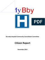 Burnaby Hospital Report