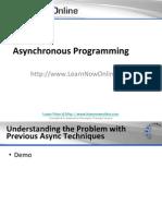 Asynchronous Programming