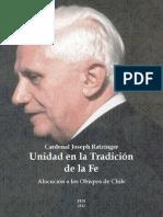 Cardenal Joseph Ratzinger - Unidad en la Tradición de la Fe