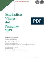 ESTADÍSTICAS VITALES DEL PARAGUAY 2009  - PORTALGUARANI