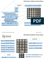 Strand 500 Softkey Cheat Sheet