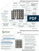 Strand 500 Key Cheat Sheets