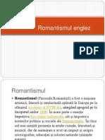 Romantismul englez