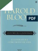 Bloom Harold - Anatomia de La Influencia