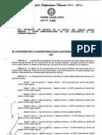 Ley N° 4.493_11