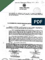 Ley 3613-08 Modifica Articulo 13 Ley 2345-03 Tasa Susticion Magisterio