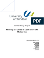 Control Theory Project Writeup