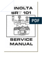 Minolta SRT101 Repair Manual