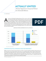 Demos National Survey on Corporate Political Spending and Reforms October 25, 2012