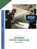 Kağıt Fabrikalarında Risk Yönetimi 1 İş Sağlığı ve Güvenliği
