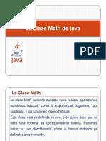 La Clase Math de Java