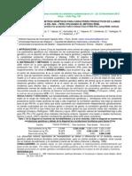 Estimación de parámetros genéticos para caracteres productivos de llamas Q'ara del INIA Perú