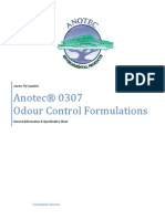 Anotec 0307 Odour Control Solutions