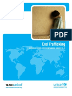 End Human Trafficking - A Middle School Educator's Guide UNICEF - grades 6-8