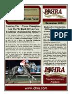 IQHRA December 2012 Newsletter