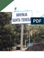 CARACTERIZACIÓN Y DISEÑO DE UNA MEZCLA DENSA EN CALIENTE  CON LAS ASFÁLTITAS DE PESCA-BOYACÁ. Cantera Santa Teresa.