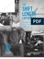 The Shift Length Experiment