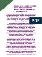 Sobre ARPAS ETERNAS y Los Manuscritos Del Mar Muerto. Hilarion Monte Nebo