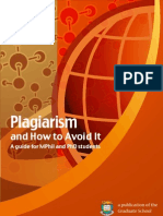 plagiarism intihal