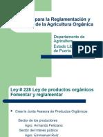 Presentacion Oficina Agricultura Organica Dept