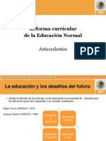Reforma Curricular II