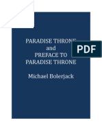 Paradise Throne and Preface to Paradise Throne