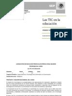 Curso Las TIC en la educación_LEPreescIntB