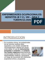 CLASE 14 ENFERMEDADES OCUPACIONALES HEPATITIS VIH SIDA TBC