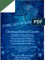Christmas Festival Concert 2012