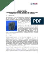 Cies-Carbon Mineral Datos Del Carbon