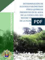 DETERMINACIÓN DE ALGUNOS PARÁMETROS FÍSICO QUÍMICOS PRESENTES EN EL AGUA DE LA CUENCA DEL RIO MOCHE Y EVALUACIÓN DE LA FLORA RIBEREÑA Y SUMERGIDA