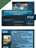Análisis Determinístico y Probabilístico  en el Avalúo de Maquinarias y Equipos por Ing. MSc  Miguel Camacaro